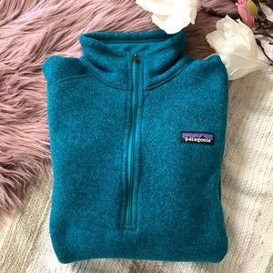 PATAGONIA▪️1/4 Zip Better Sweater Blue. S